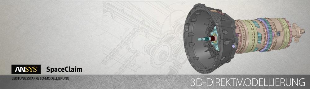 ANSYS SpaceClaim ist das weltweite schnellste und innovativste Programm für die Modellierung von 3D-Volumenkörpern.
