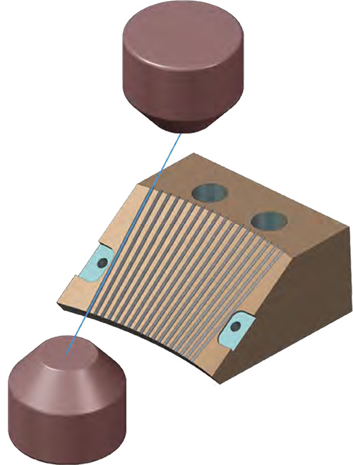 Von 2- und 4-Achsen-Bearbeitung über Synchronisieren und Steg- Kontrolle bietet Mastercam Drahten die Tools für schnelle und effiziente Draht-Programmierung.