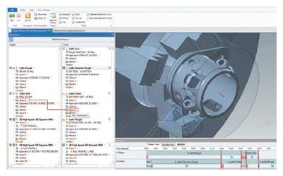 Mastercam Mill-Turn vereinfacht selbst komplizierteste Projekte