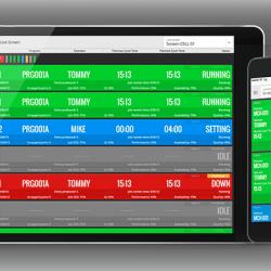 MDC-Max Live Screen auf Tablet und Smartphone (Entwurf)