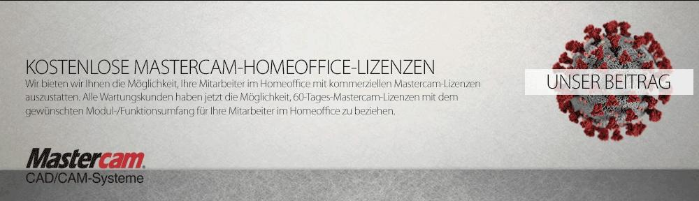 Mastercam Demo für das Homeoffice