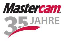 Logo 35 Jahre Mastercam